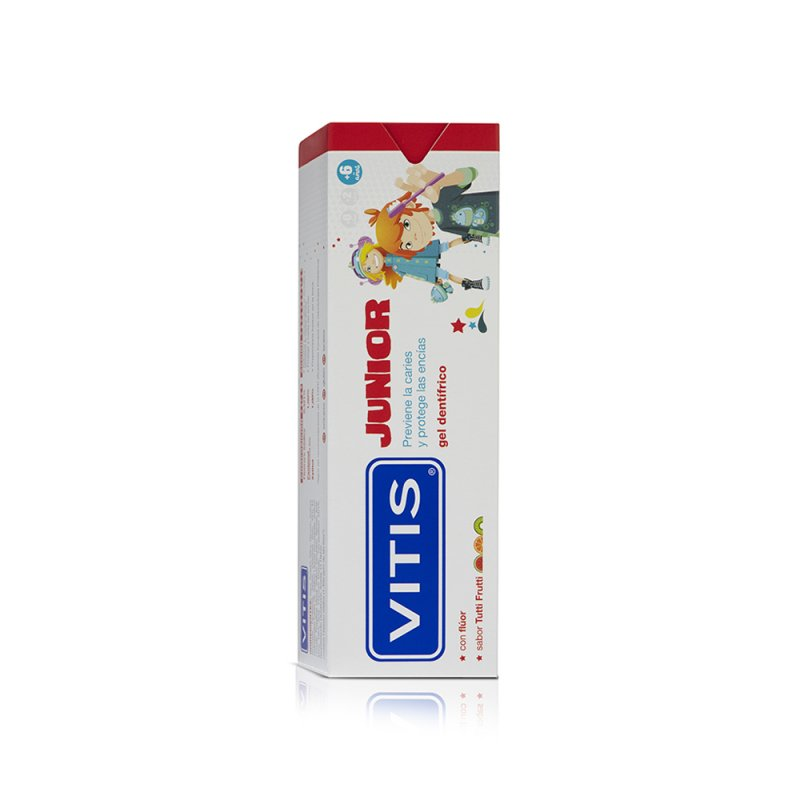 VITIS® Junior gel dentífrico